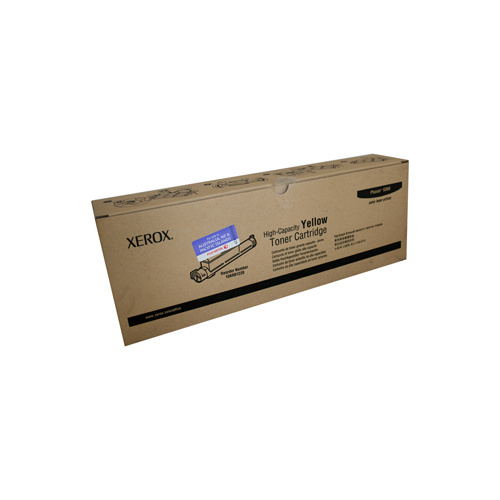 Xerox Phaser 6360 Yellow Toner Cartridge - 12000 pages