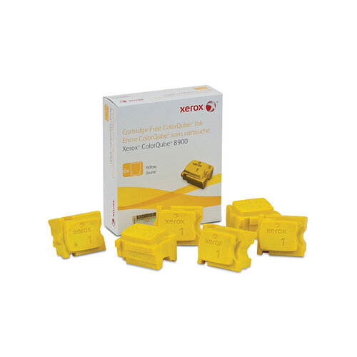 FX Phaser 108R01032 Yelow Ink sticks - 6 pack - 16900 pages