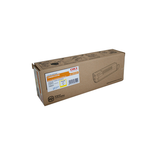 Oki C5650 Yellow Toner Cartridge - 2000 pages