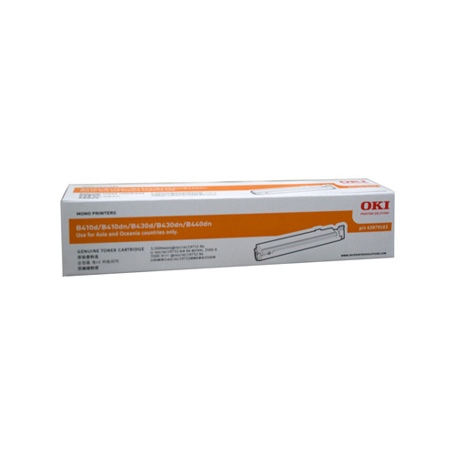 Oki B410 / 430 / 440 Toner Cartridge - 3500 pages