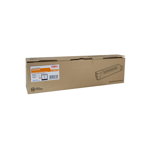 Oki C810 Black Toner Cartridge - 8000 Pages