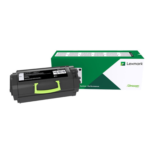 Lexmark 523 Black Toner - 6000 pages