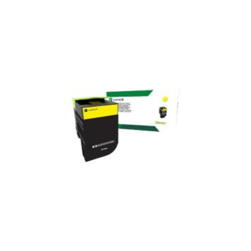 Lexmark 808M Yellow Toner - 1000 pages