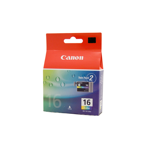 Canon BCI-16C Colour Ink Tank - 2 per pack - 100 pages each