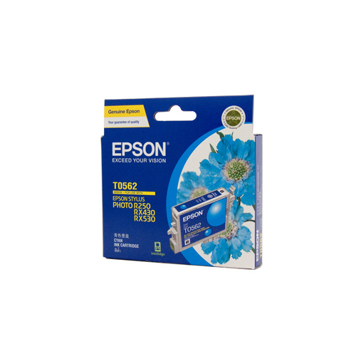 Epson T0562 Cyan Ink Cartridge - 290 pages