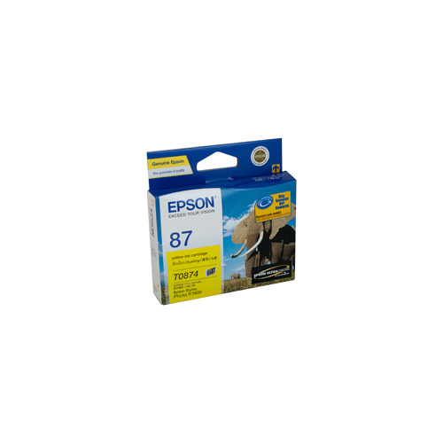 Epson T0874 Yellow Ink Cartridge - 915 pages