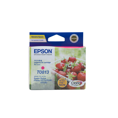 Epson T1113 (81N) Magenta Ink Cartridge (replaces T0813) - 805 pages