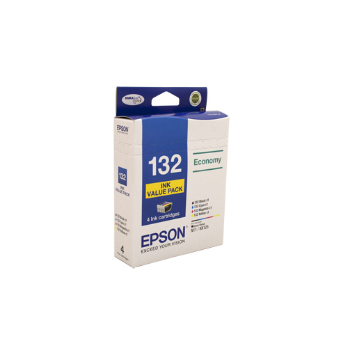 Epson 132 Ink Value Pack - BCM & Y ink x 1 each