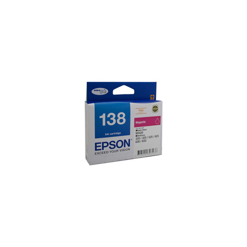 Epson T1383 (138) H/Y Magenta Ink Cartridge - 420 pages