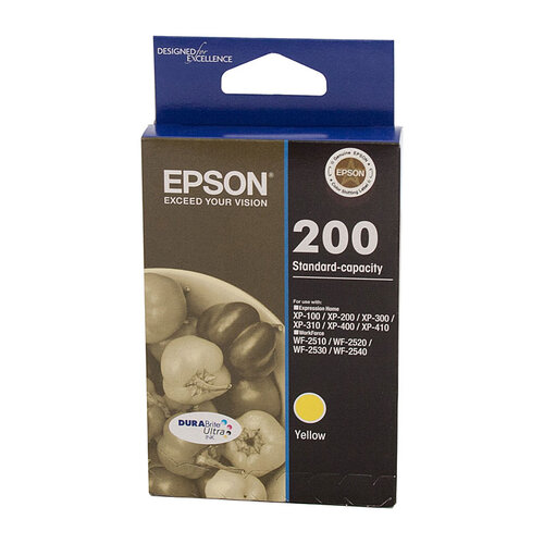 Epson 200 Yellow Ink Cartridge - 165 pages