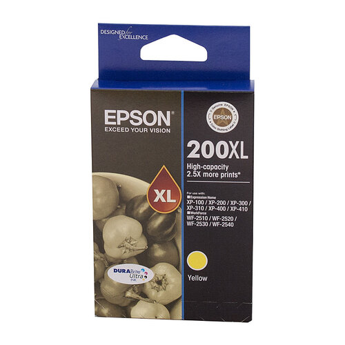 Epson 200 HY Yellow Ink Cartridge - 450 pages