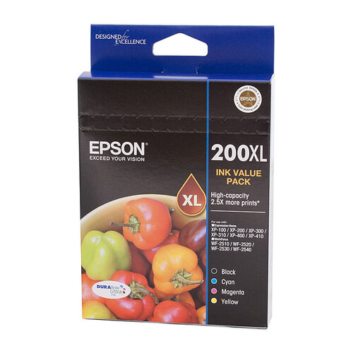 Epson 200 4 HY Ink Value Pack
