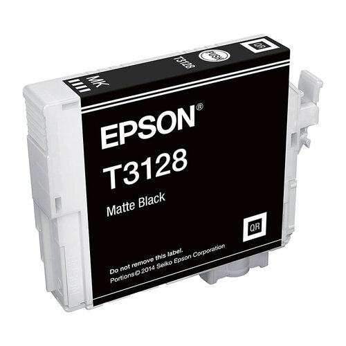 Epson T3128 Matte Blk Ink Cartridge