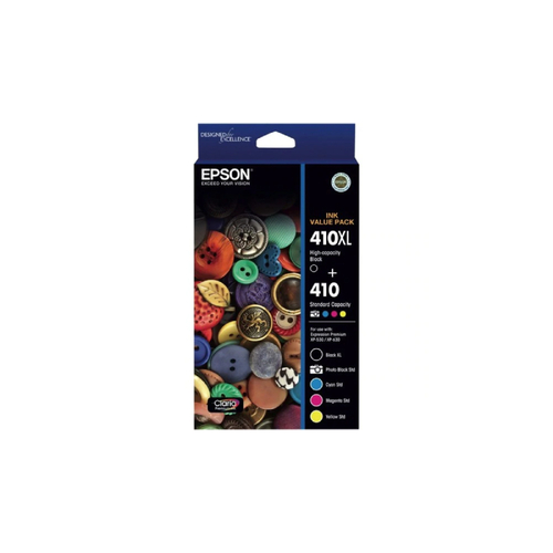Epson 410 Ink Value Pack (BXL PB C M & Y)