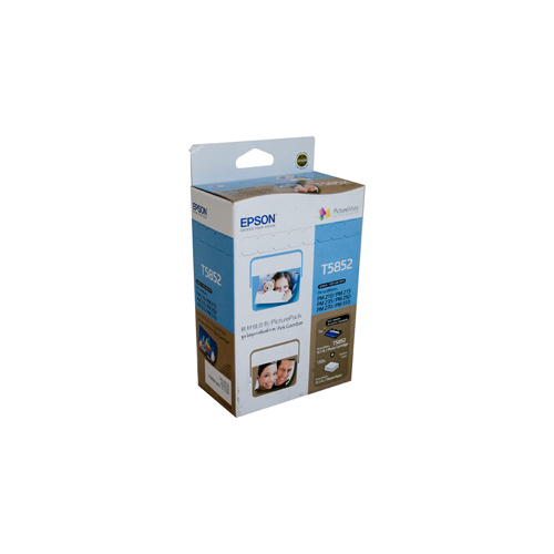 Epson T585 Photo Ink Cartridge & Paper Pack - 150 sheets