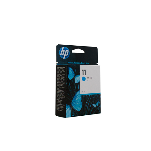 HP #11 Cyan Ink Cartridge (29ml) - 1830 pages