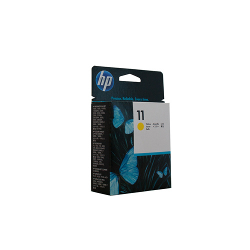 HP #11 Yellow Ink Cartridge (29ml) - 1830 pages