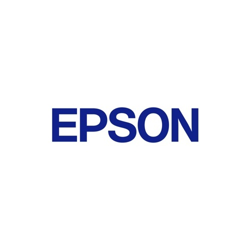 Epson C53S624100 Label Tape 9mm  Black on White - 9 meters