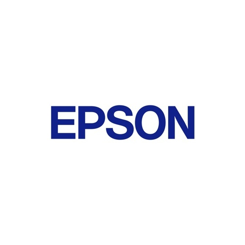 Epson C53S625100 Label Tape 18mm Black on White - 9 meters