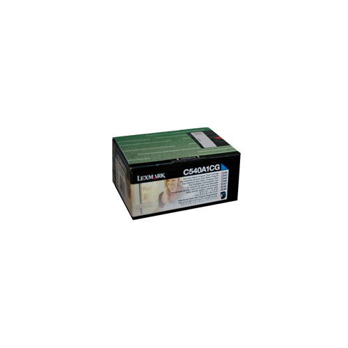 Lexmark C540 / 543 / X543 / C544 / X544 Cyan Prebate Toner Cartridge - 1000 pages