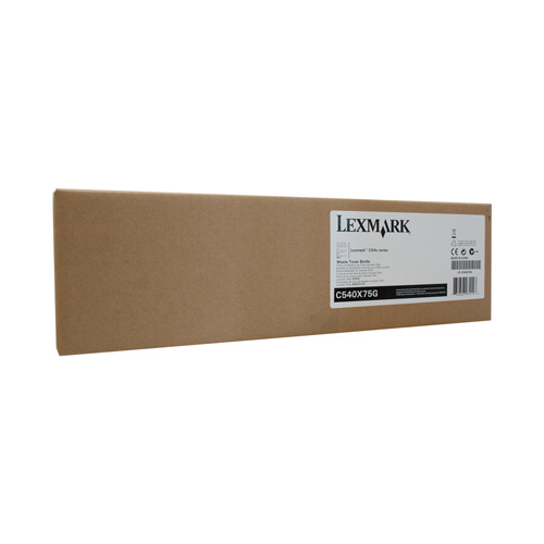 Lexm C540X75G Waste Bottle - Suits C540/C543/C544/X543/X544 - 36000 pages