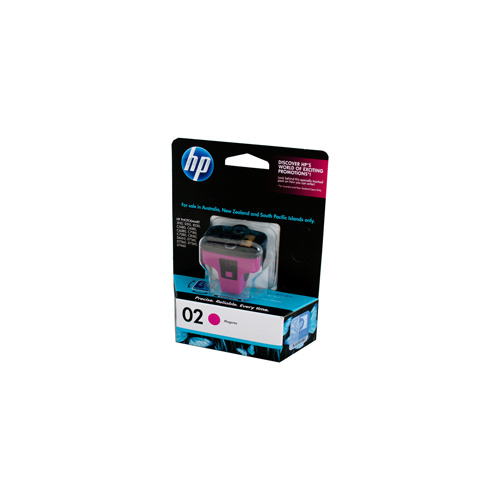 HP #02 Magenta Ink Cartridge - 3.5ml - 350 pages