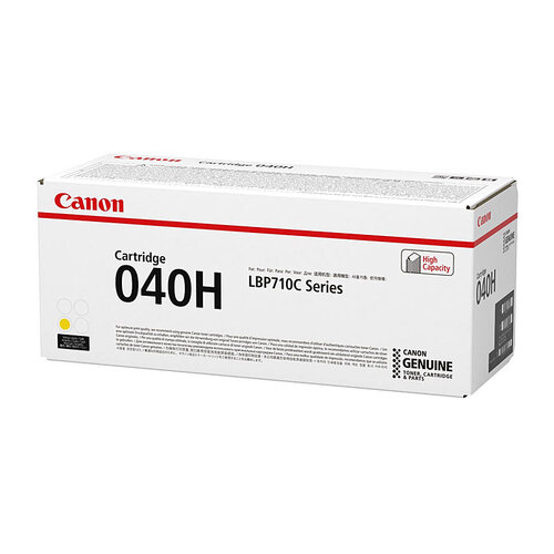 Canon CART040 Yellow HY Toner Cartridge - 10000 pages