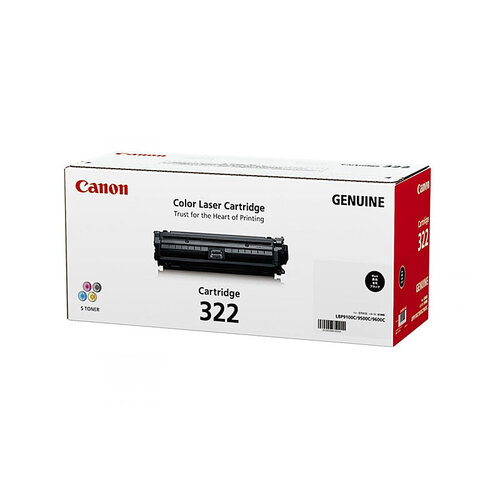 Canon CART-322 Black Toner Cartridge - 6500 pages