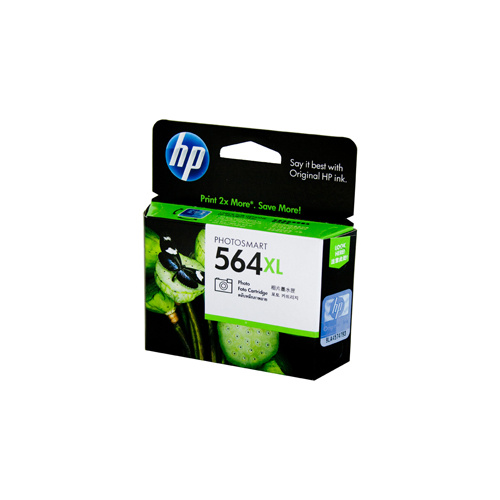 HP #564XL Photo Black Ink Cartridge - 290 pages of 4 x 6