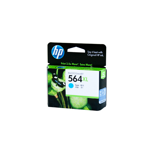 HP #564XL Cyan Ink Cartridge - 750 pages