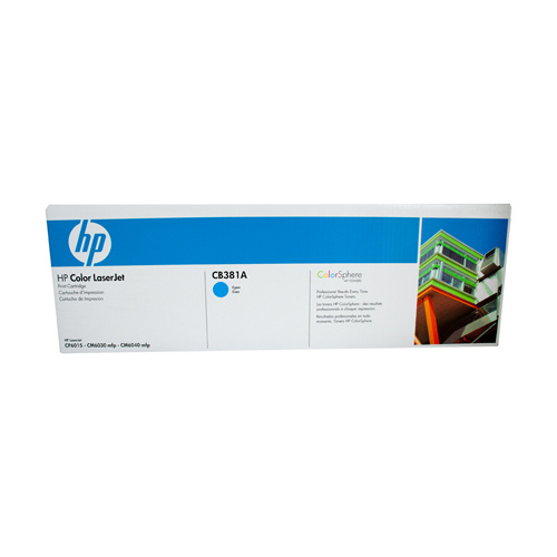 HP #824A Cyan Toner Cartridge - 21000 pages