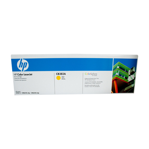HP #824A Yellow Toner Cartridge - 21000 pages