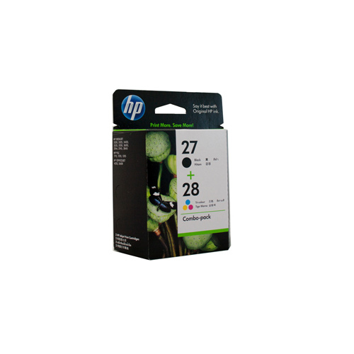 HP #27 & #28 Twin Pack (C8727AA & C8728AA) - black 220 pages and colour 190 pages