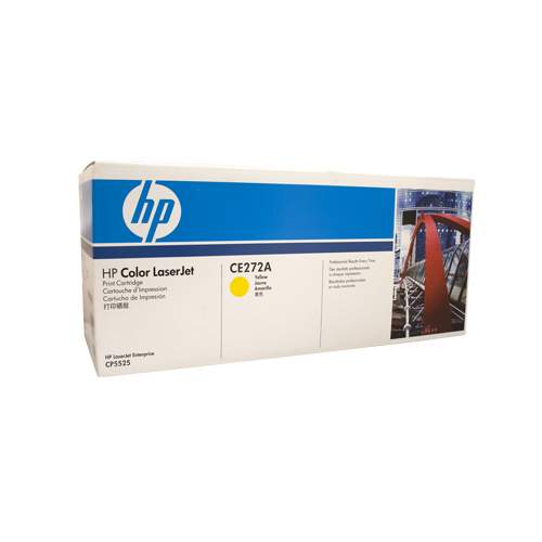 HP #650A Yellow Toner Cartridge - 15000 pages