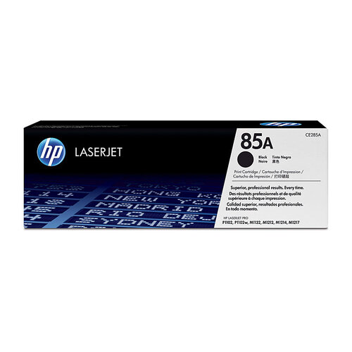 HP #85A Black Toner Twin pack- 1600 pages each