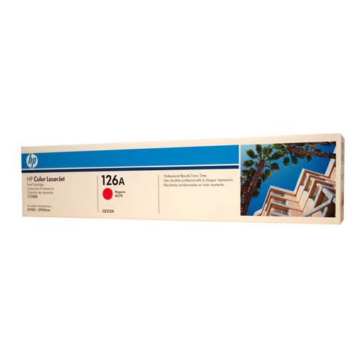 HP #126A Magenta Toner Cartridge - 1000 pages
