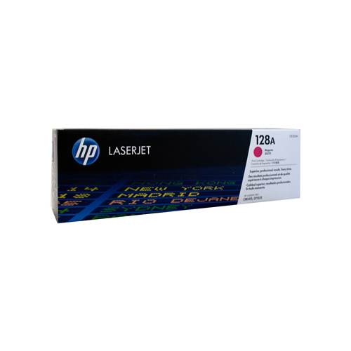 HP #128A Magenta Toner Cartridge - 1300 pages