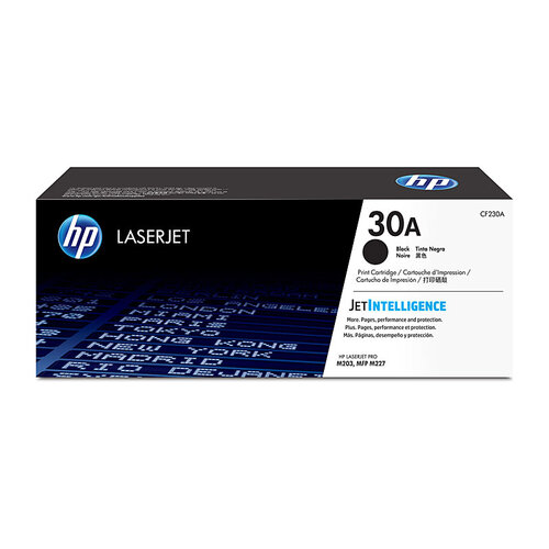 HP #30A Black Toner Cartridge - 1600 pages