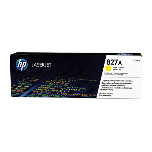 HP #827A Yellow Toner Cartridge - 32000 pages