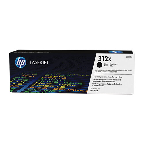 HP #312X Black Toner Cartridge - 4400 pages