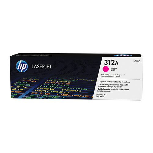HP #312A Magenta Toner Cartridge - 2700 pages