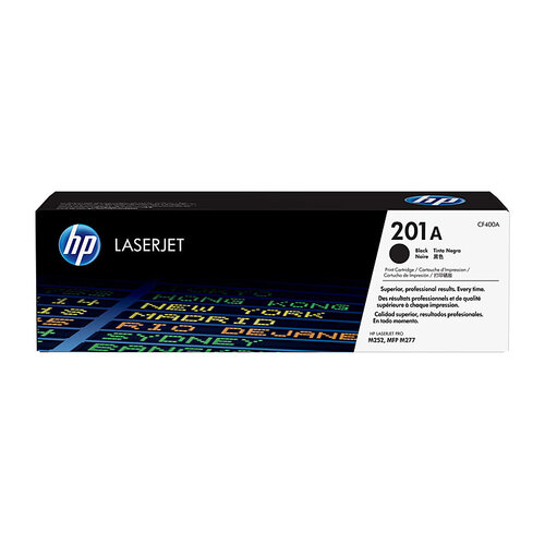HP #201A Black Toner Cartridge - 1500 pages