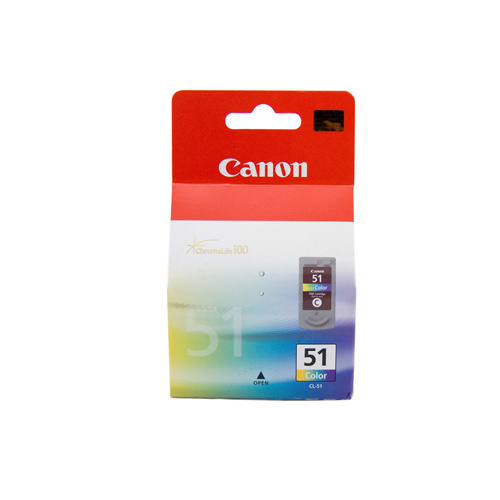 Canon CL-51 FINE Colour Ink Cartridge High Yield - 545 pages