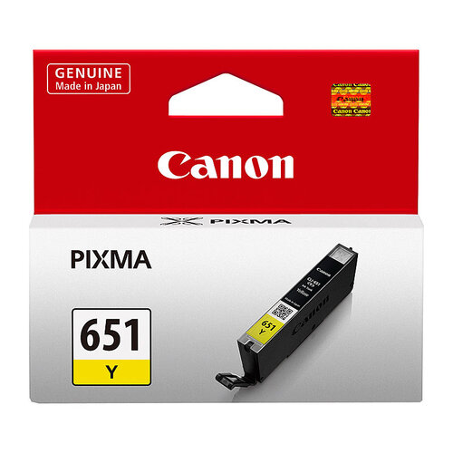 Canon CLI-651 Yellow Ink Cartridge - 344 A4 pages