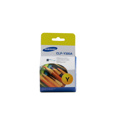 Samsung CLP-300 / CLX-2160 / 3160 Yellow Toner Cartridge - 1,000 pages @ 5%