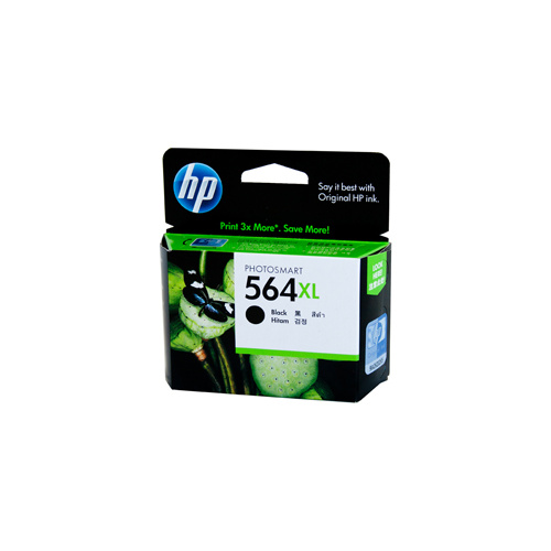 HP #564XL Black Ink Cartridge - 550 pages
