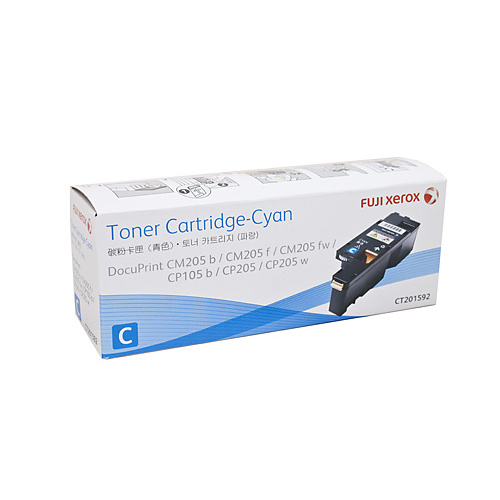 Xerox DocuPrint CT201592 Cyan Toner Cartridge - 1400 pages