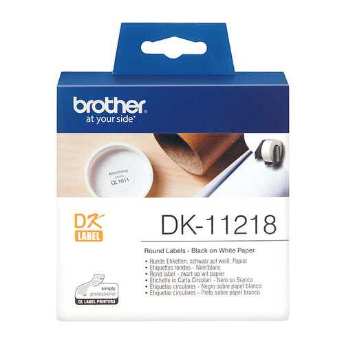Brother DK11218 White Label - 1000 per roll