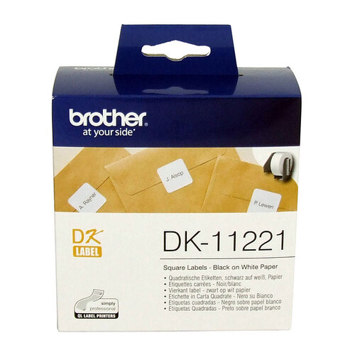 Brother DK11221 White Label - 1000 per roll