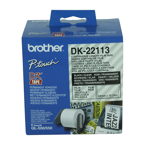 Brother DK22113 Clear Roll - 15.24 meters